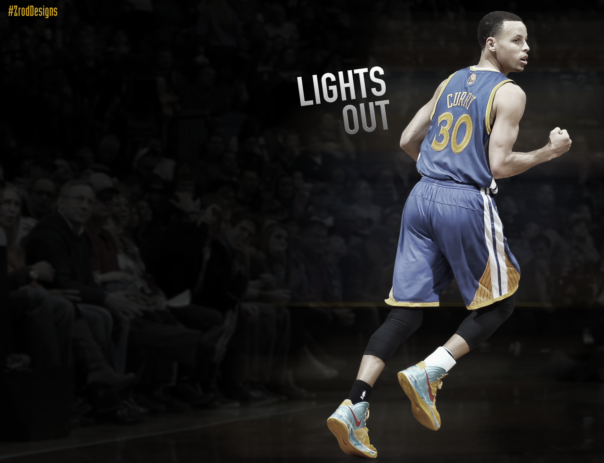 Stephen Curry Lights Out Wallpaper