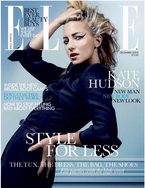 Kate Hudson, Elle magazine UK, December 2009
