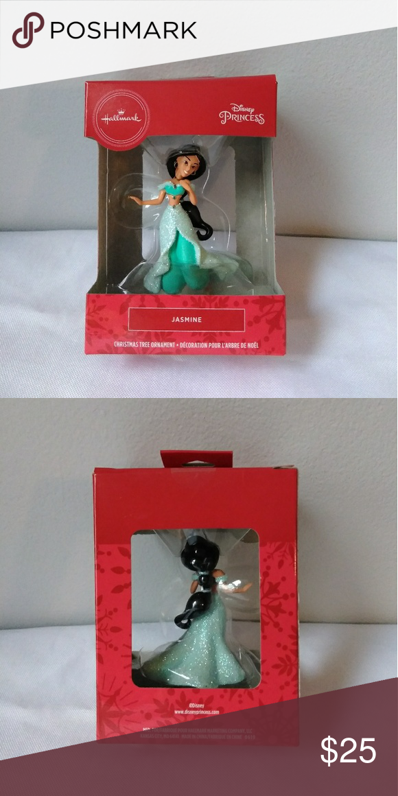 Disney Jasmine Hallmark Christmas Ornament NWT in 2020