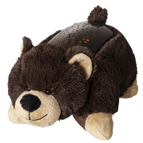 Pillow Pets Dream Lites Bear 11 By Pillow Pets 25 99 Pillow Pet Dream Lites Are The Amazing Nightlight That Turns Your Room Animal Pillows Pets Pet Toys
