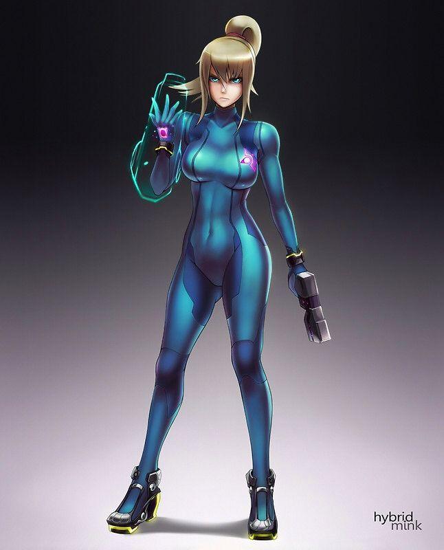 Zero Suit Samus SSB4   Awesome Art   Metroid, Zero suit ...