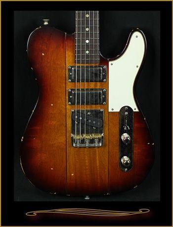 B3 Phoenix in Dark Burst with Light Distressing at The Guitar Sanctuary McKinney Texas