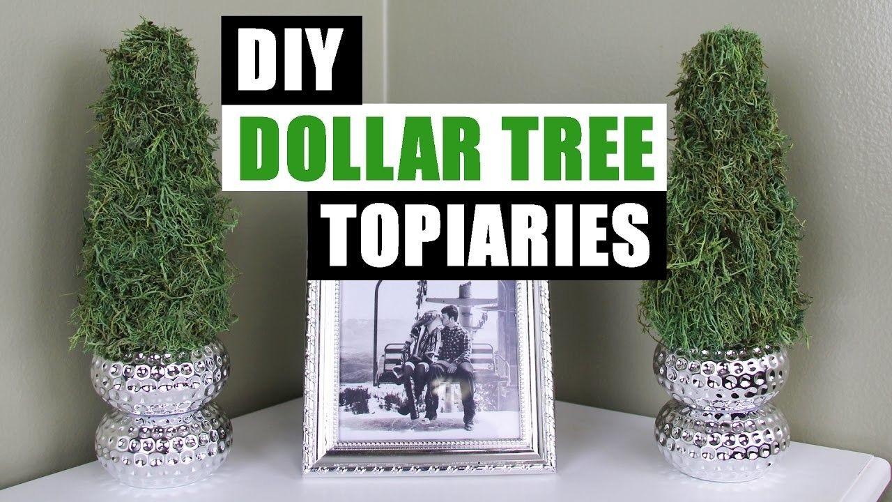 diy dollar tree topiaries dollar store cheap diy home decor dollar tree decor dollar stores. Black Bedroom Furniture Sets. Home Design Ideas