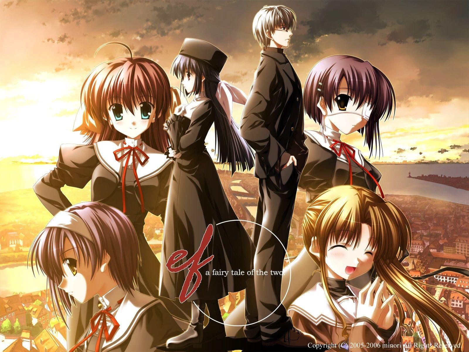 Ef A Tale Of Memories Anime Romance Anime Anime Love Triangle