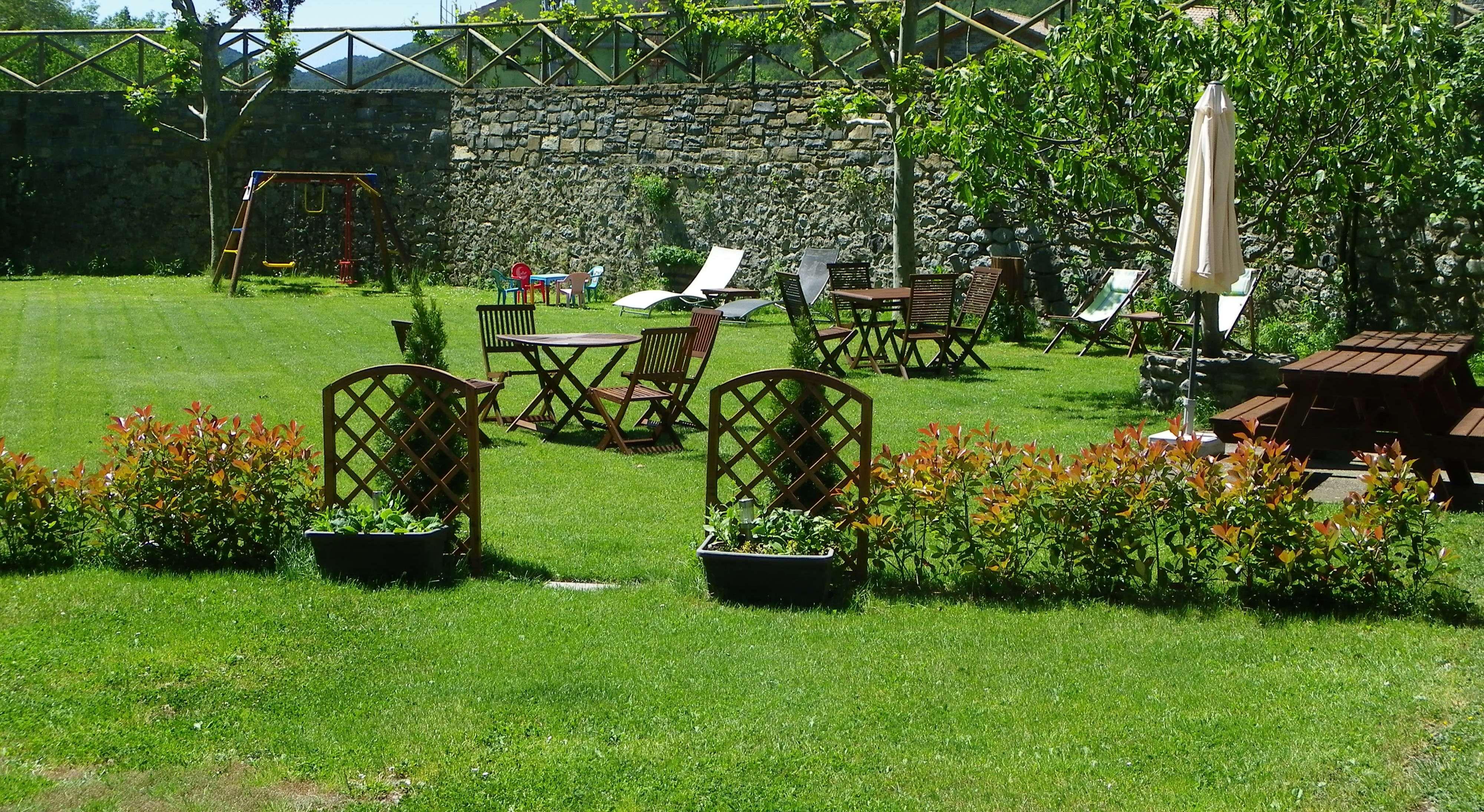 Jardín | Apartamentos de turismo rural| Pirineo de Huesca| Pirineo Aragonés | Parque Nacional de Ordesa y Monte Perdido