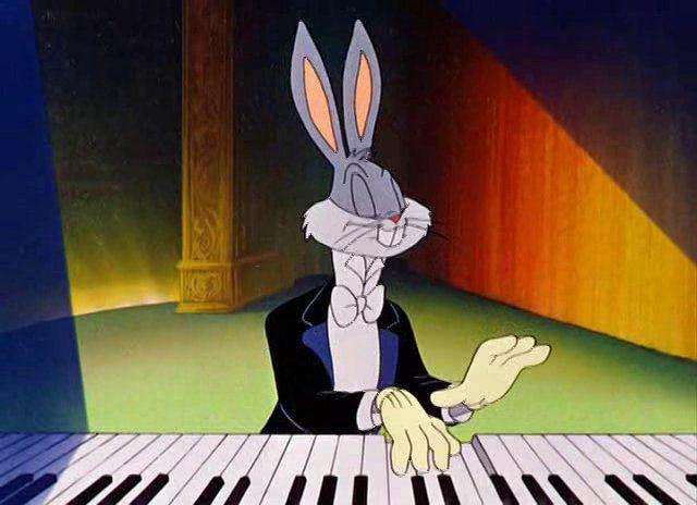 Rhapsody Rabbit Cartoon Craze Music For Kids Bugs Bunny Looney