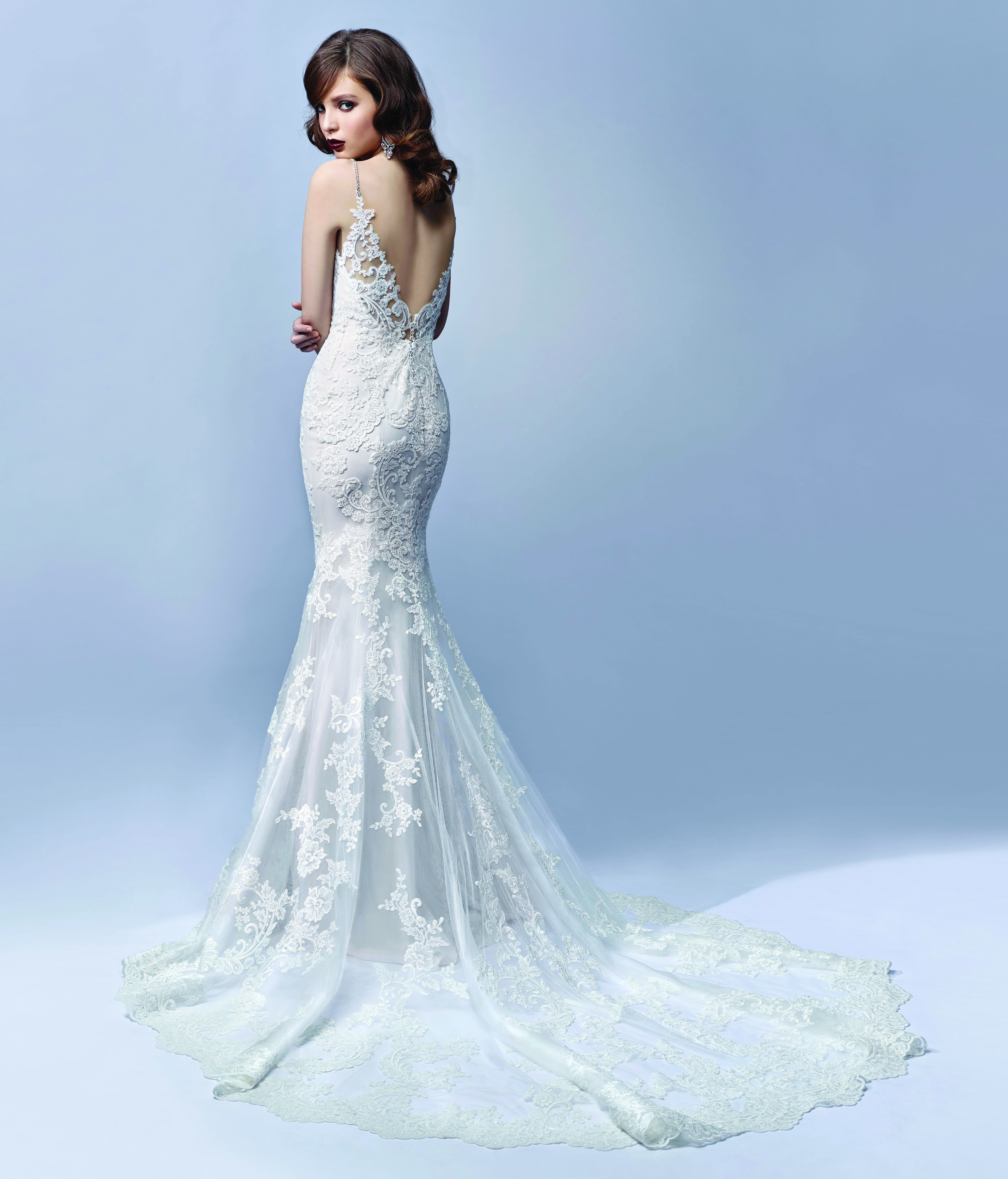Enzoani bridalwear Journey design from the Enzoani Blue 2017