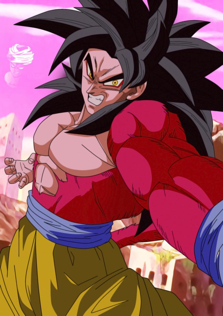 Goku Ssj4 In Dragon Ball Gt Style Anime Dragon Ball Super Dragon Ball Super Goku Dragon Ball Artwork