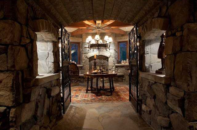 Canmore Castle With Images Wine Room Design Home Wine Cellars
