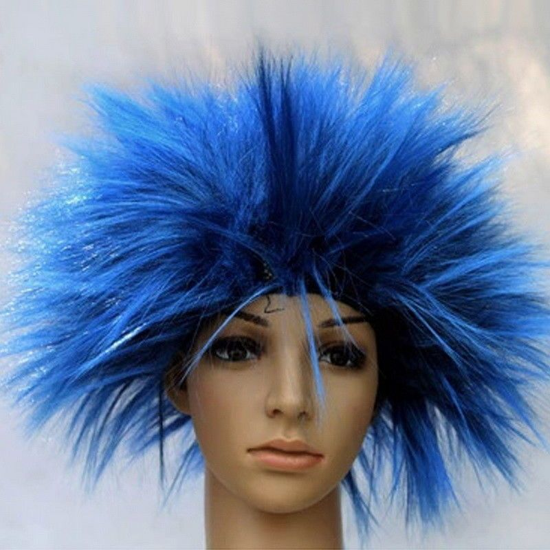 Anime Hairstyles On Real People: Unisex Festival Party Wig Anime Cosplay Funny Hair