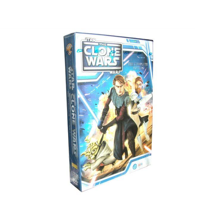 Star Wars:The Clone Wars Season 5 DVD Box Set | DVDS | Pinterest ...