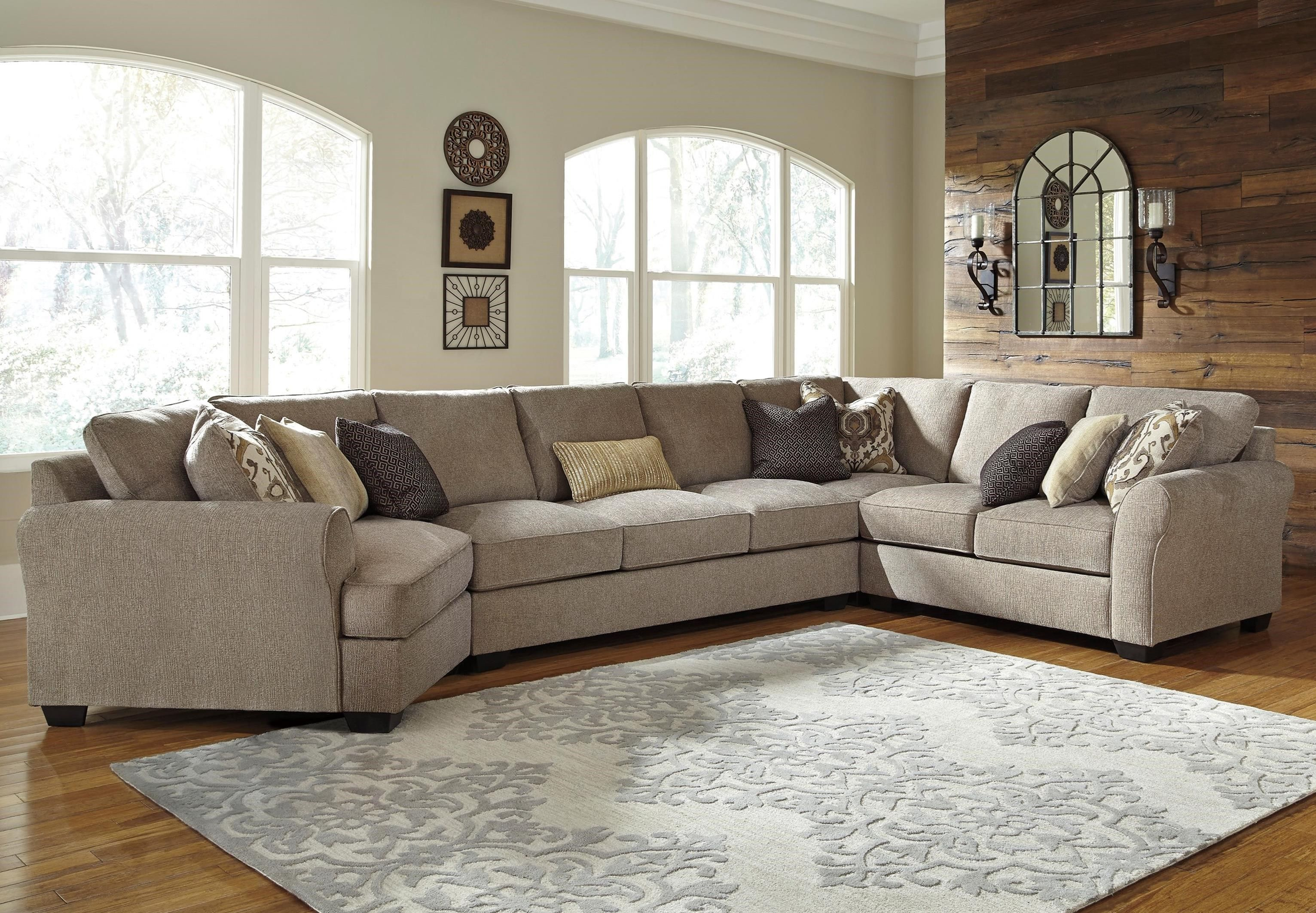 Best Pantomine 4 Piece Sectional With Left Cuddler Armless 400 x 300