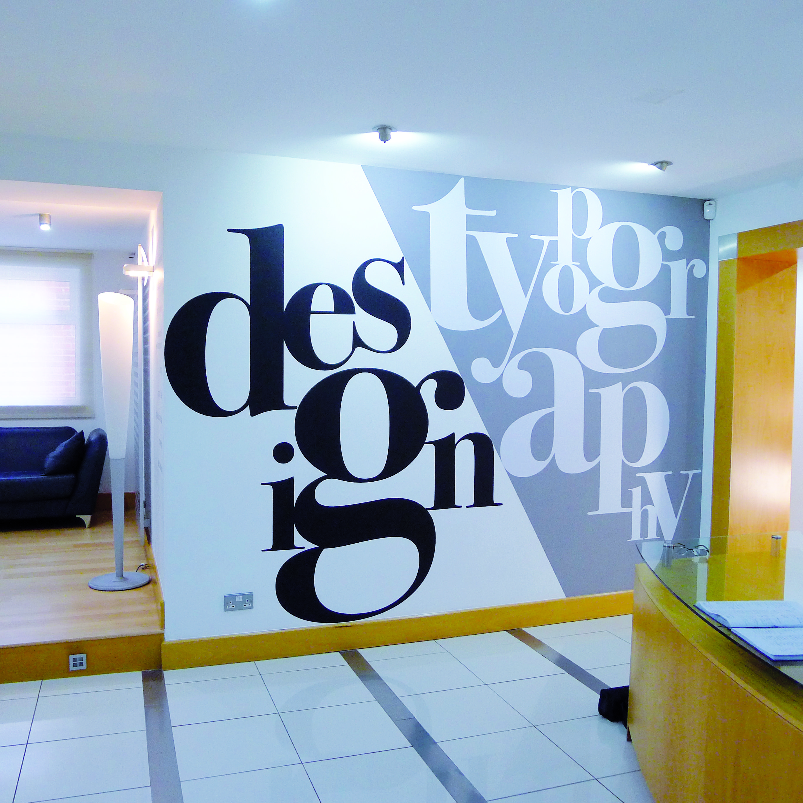 Office Typography Office Wall Graphics Office Wall Design Wall Graphics
