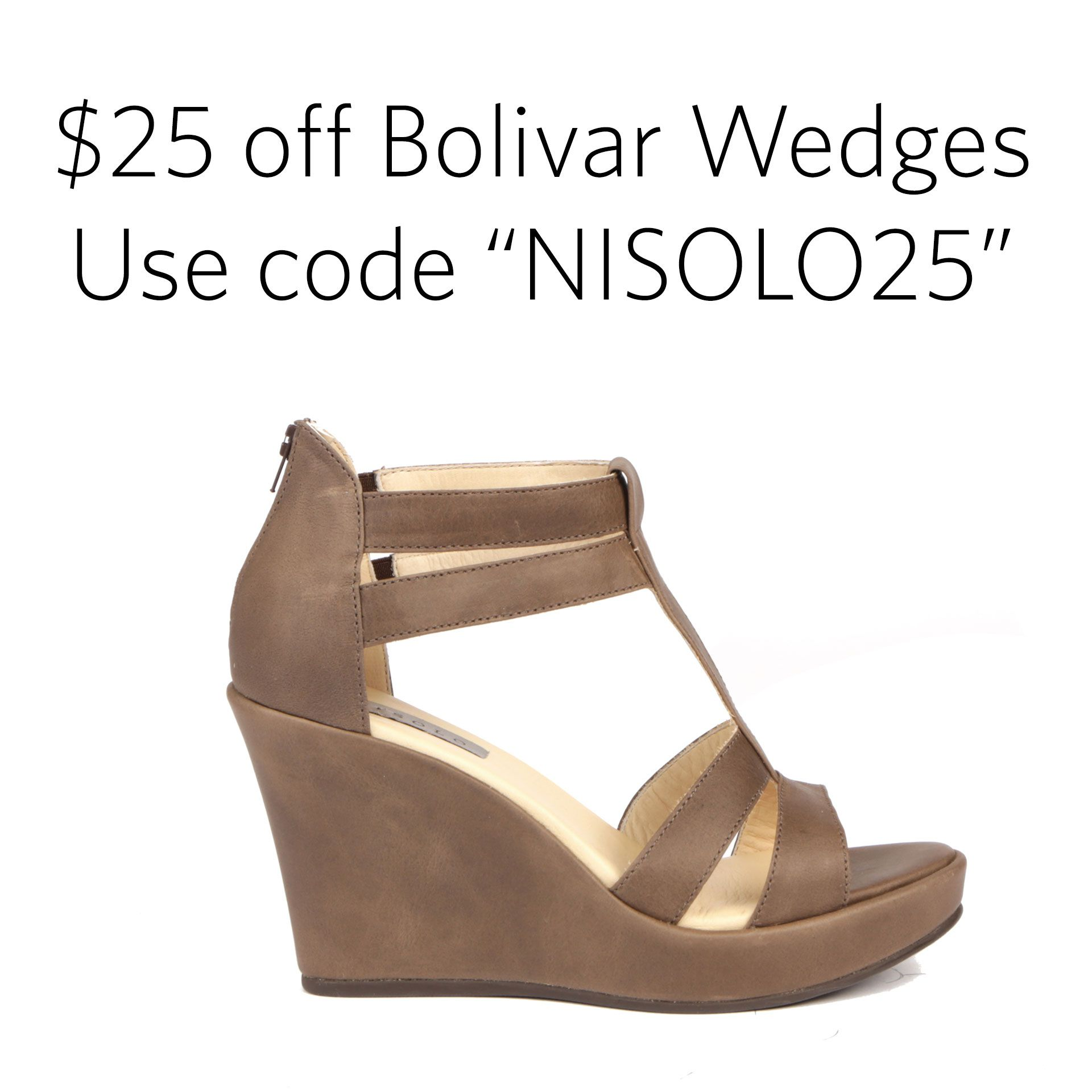 Wedges, Leather wedges
