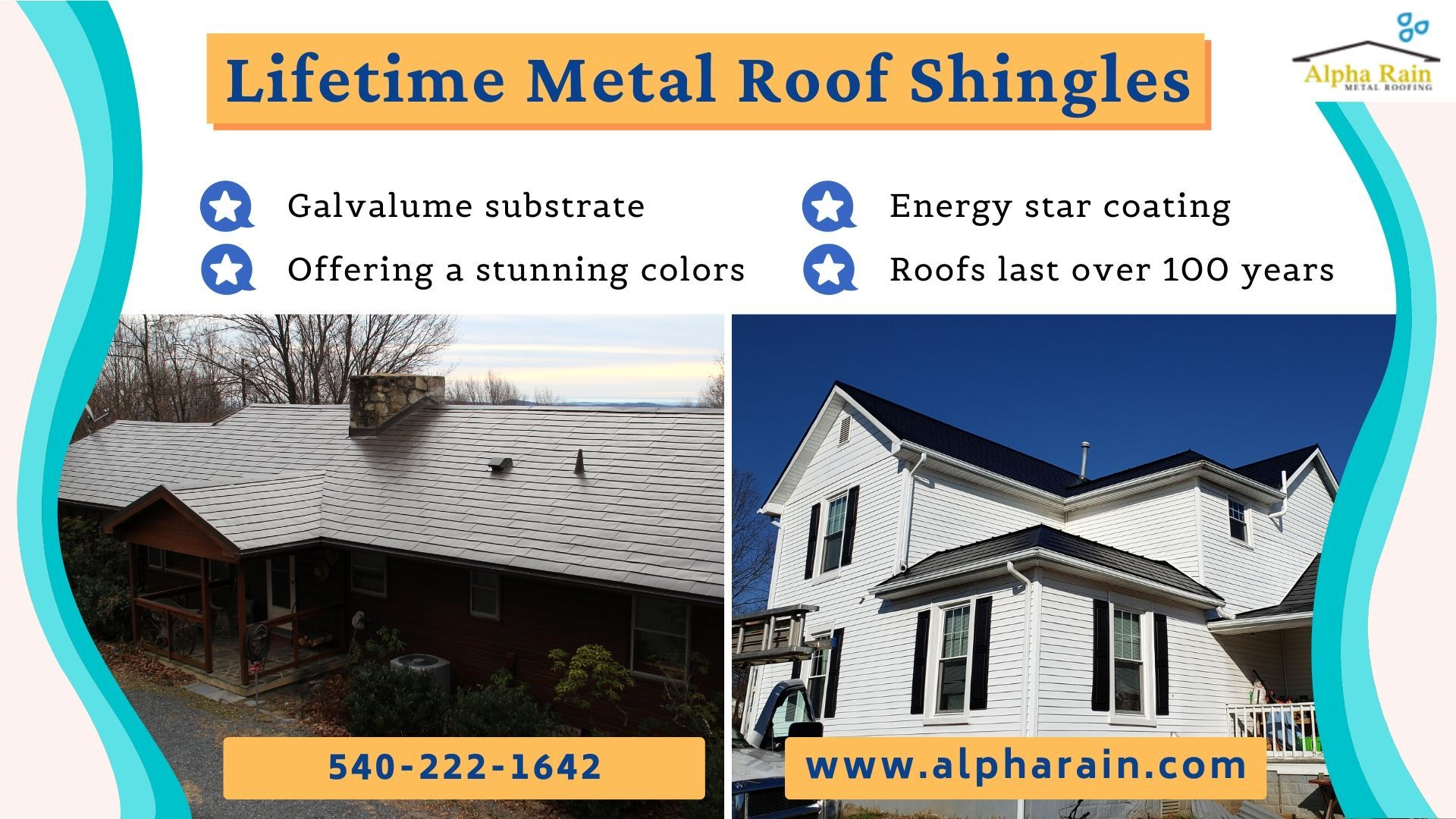 Cost Effective Roofing With Lifetime Option By Alpha Rain In 2020 Metal Shingle Roof Metal Shingles Shingling