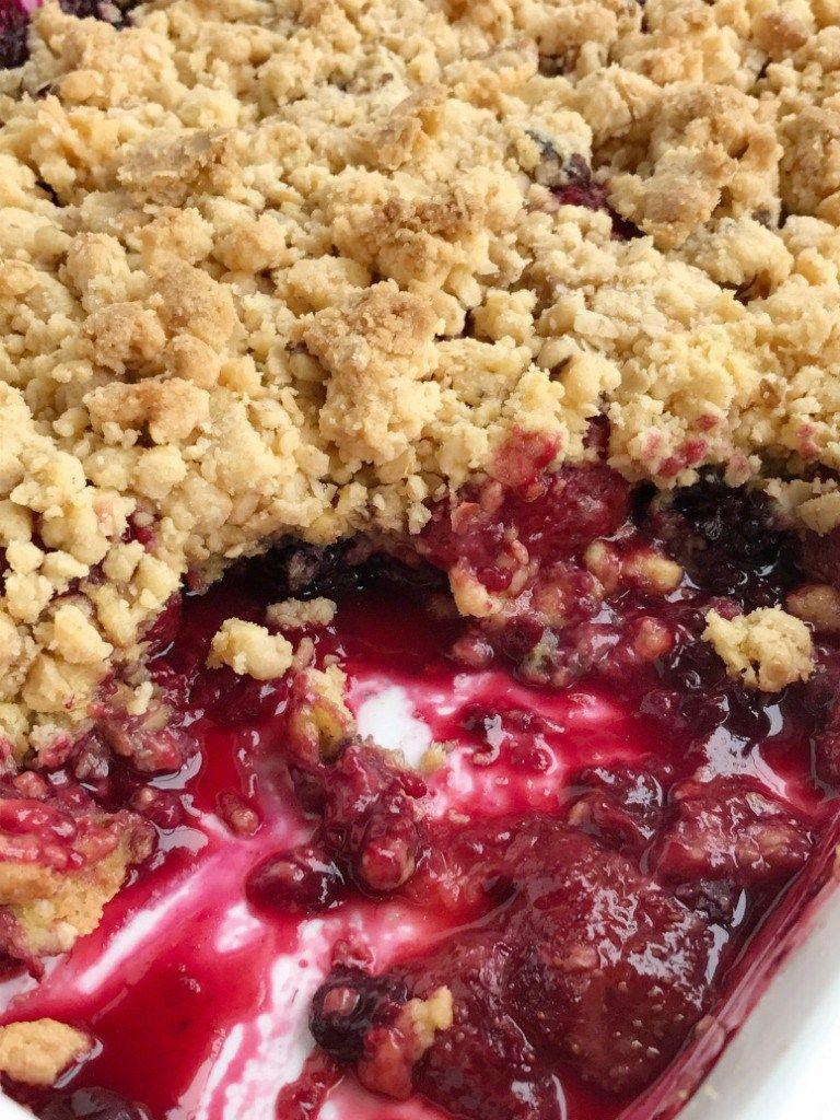 Berry Dump Cake Recipes