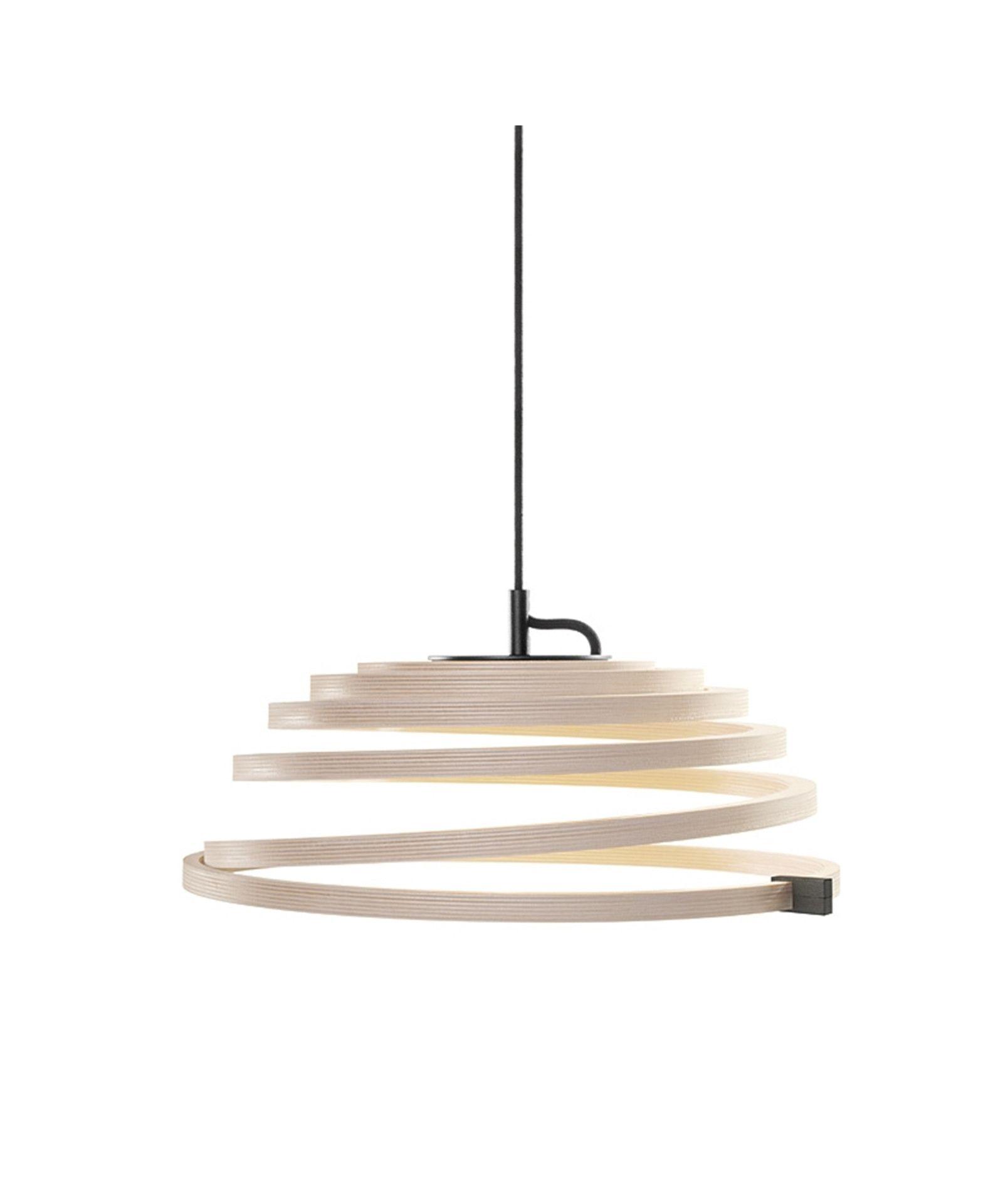 Aspiro 8000 Pendel Birk Sort Ledning Secto Pendel Skandinavisk Design Lamper