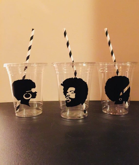 70s Party Cups, Afro, African Cups, Disco, 1970, 70's Birthday, Party Favor, Retirement Party #70sthemeparties Handmade 16oz disposable plastic 70s theme party cups. Decorated with vinyl, included straws and lids. Great for small children to prevent messy spills. Cup options: 12 count 16 count 25 count 30 count 40 count 50 count Please contact me if you would like a different amount of cups then the