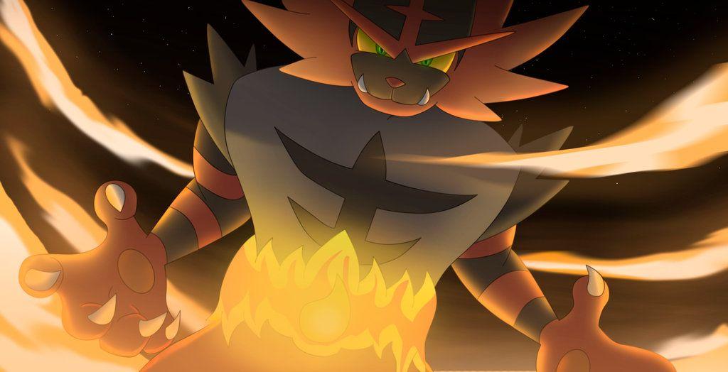 Incineroar By All0412deviantartcom On At Deviantart Pokemon