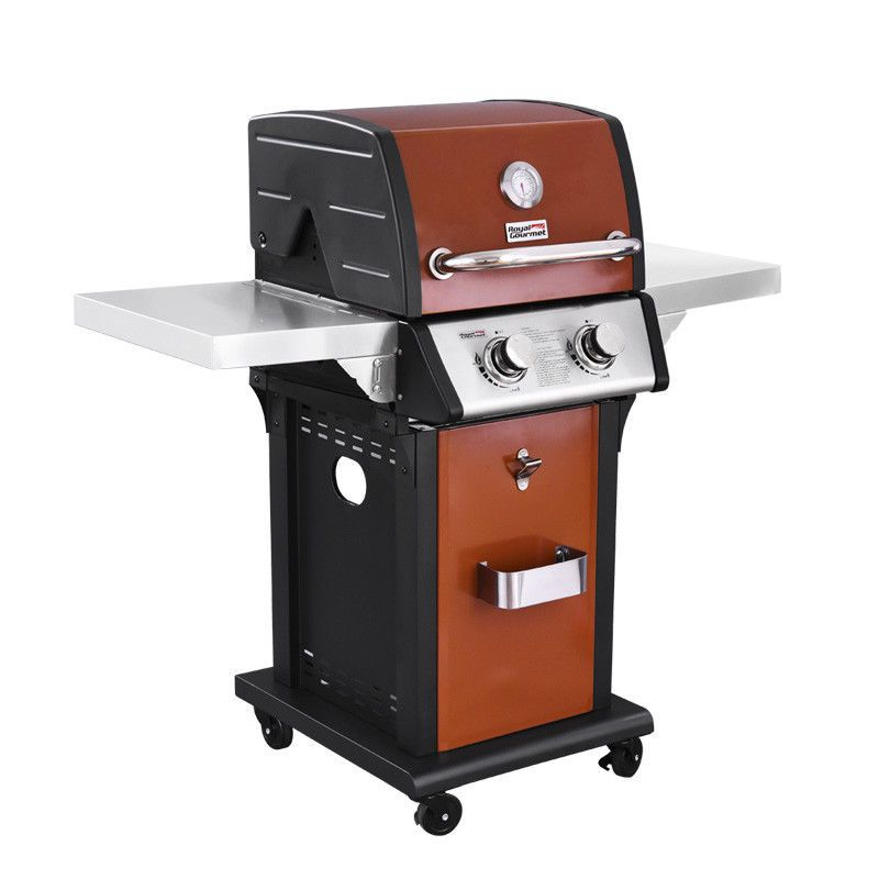 Bbq gas grill 2 burner propane outdoor cooking barbecue