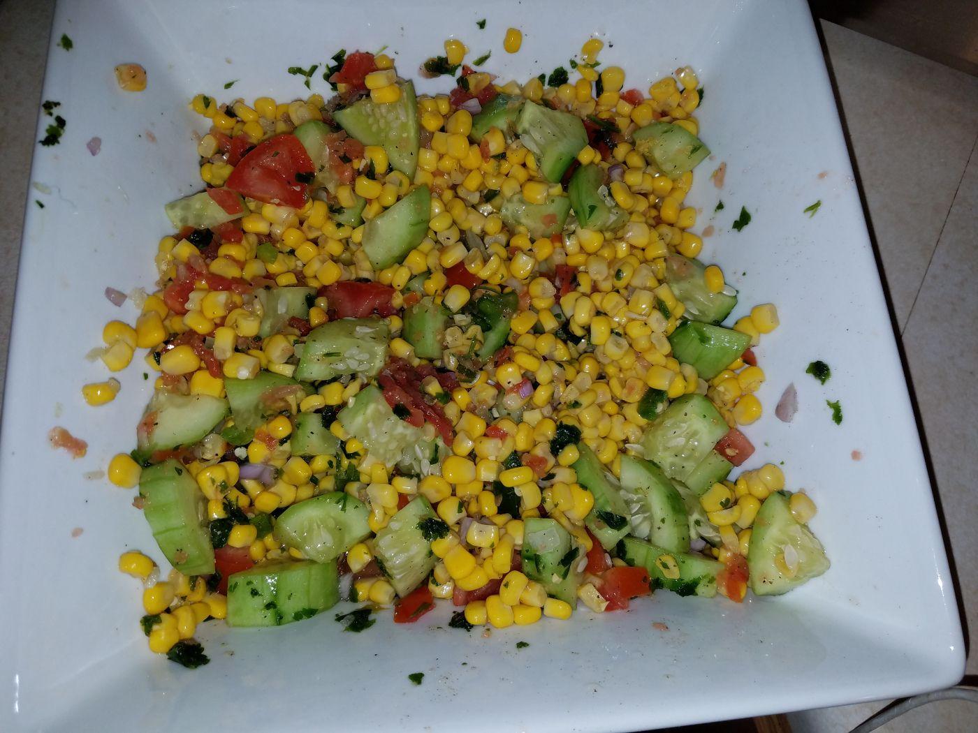 Dr. Maritza Baez : Easy Corn Salad Recipe