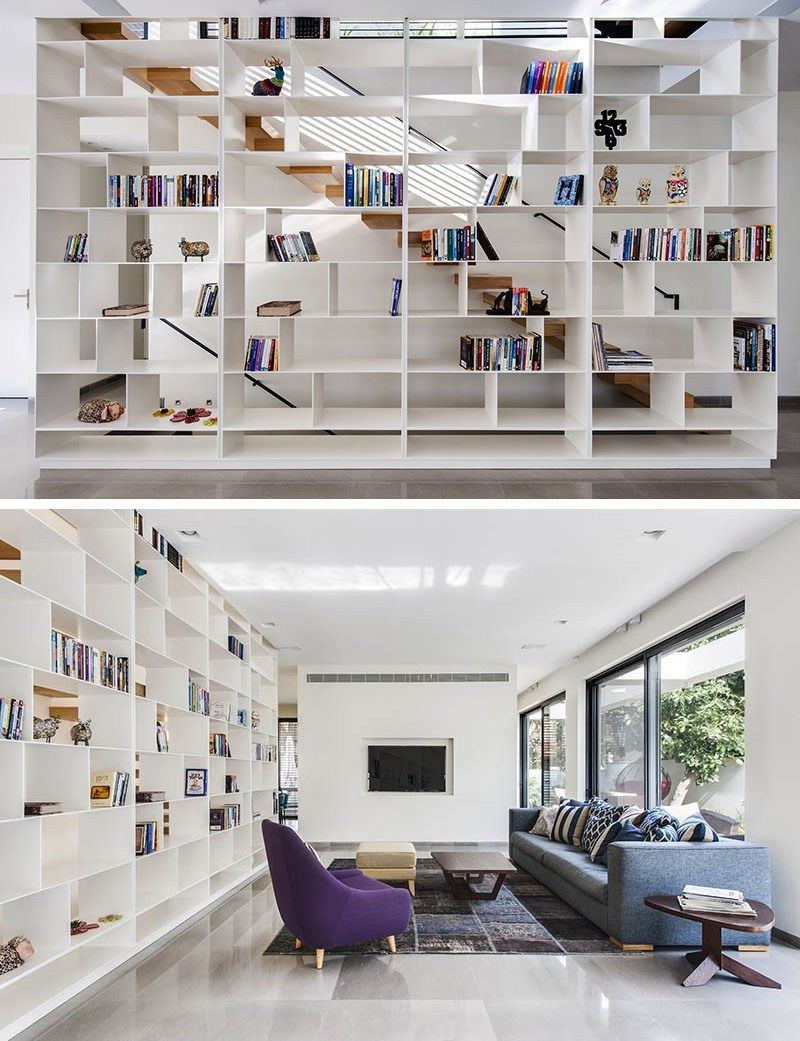 moderne treppe bucherregal, modern | all about books | pinterest | treppe, treppen regal und regal, Design ideen