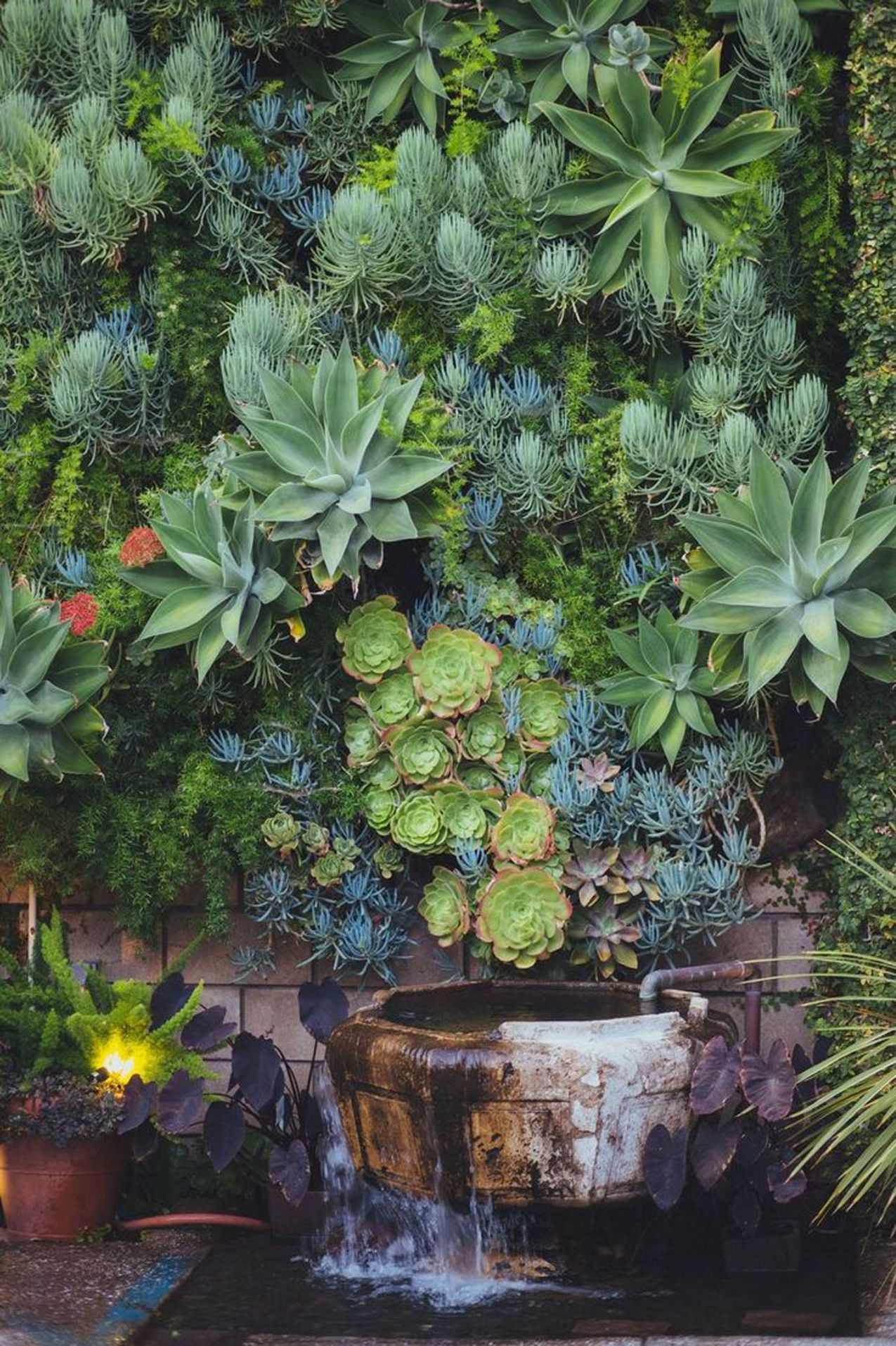 woolly holman diy artificial gardens hanging beau planter on indoor vertical garden wall diy id=44015