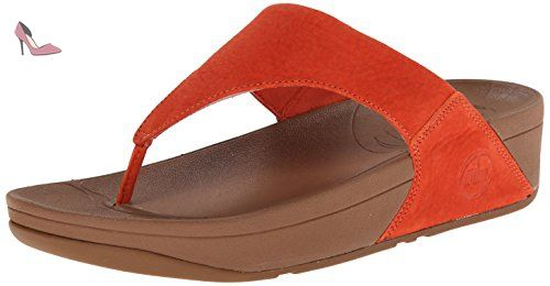 Sandales EU Nubuck Orange Flame Fitflop 36 Lulu Femme qFUwnxZ4