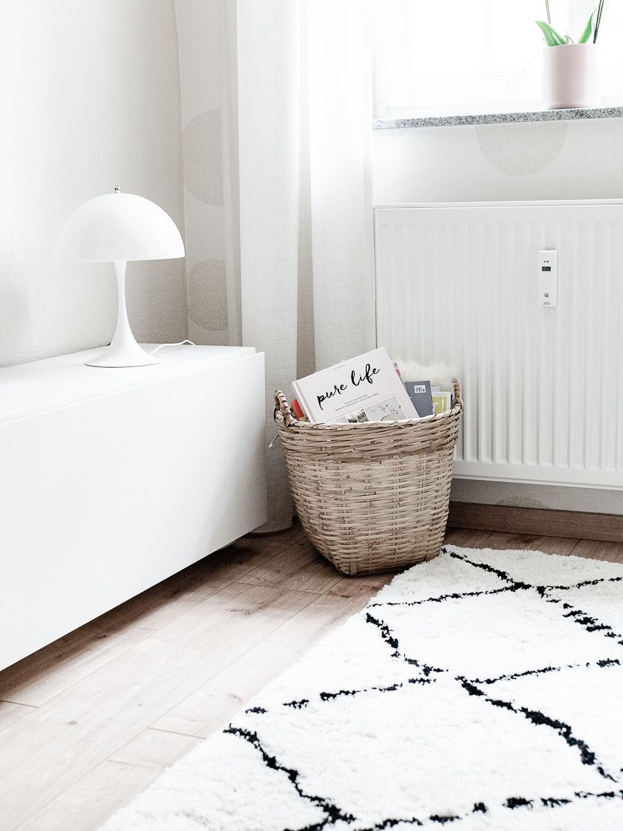 Dekosamstag Ikea Stocksund Sofa Rauten Teppich Louis Poulsen Panthella Mini Stocksund Sofa Wohnzimmer Inspiration Rauminspiration