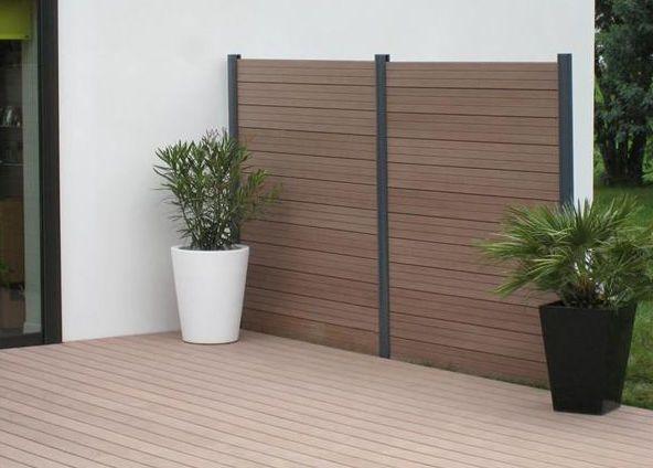 weatherproof wpc fence weather resistant anti uv wpc. Black Bedroom Furniture Sets. Home Design Ideas
