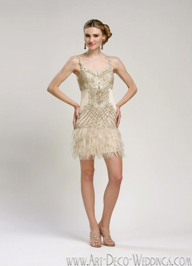 10 Best images about Faux Flappers on Pinterest  Wedding dresses ...