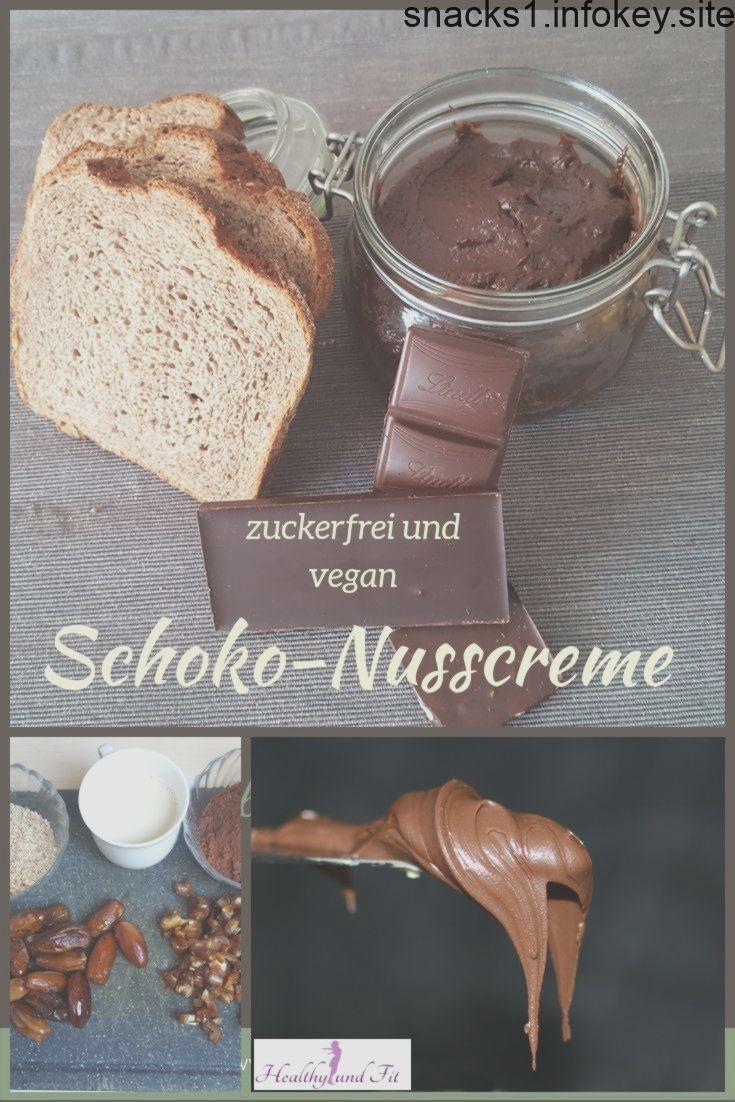 Schoko-Nusscreme - zuckerfrei und vegan Schoko-Nusscreme - zuckerfrei und vegan,