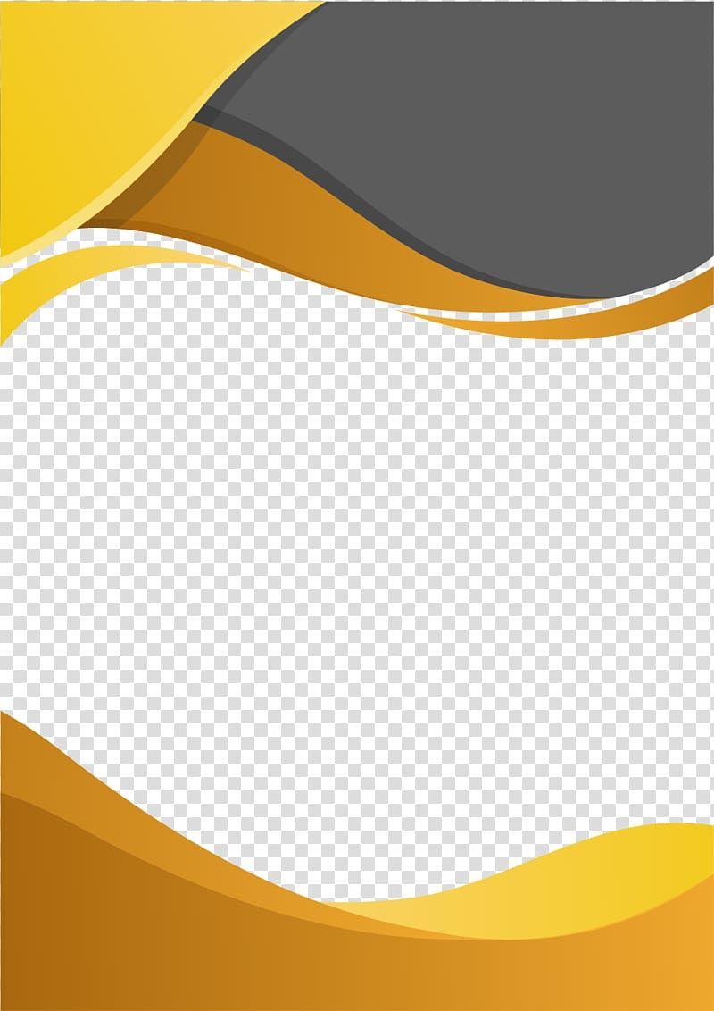 Computer File Border Business Orange And Gray Frame Transparent Background Png Clipart Cloud Illustration Transparent Background Clip Art