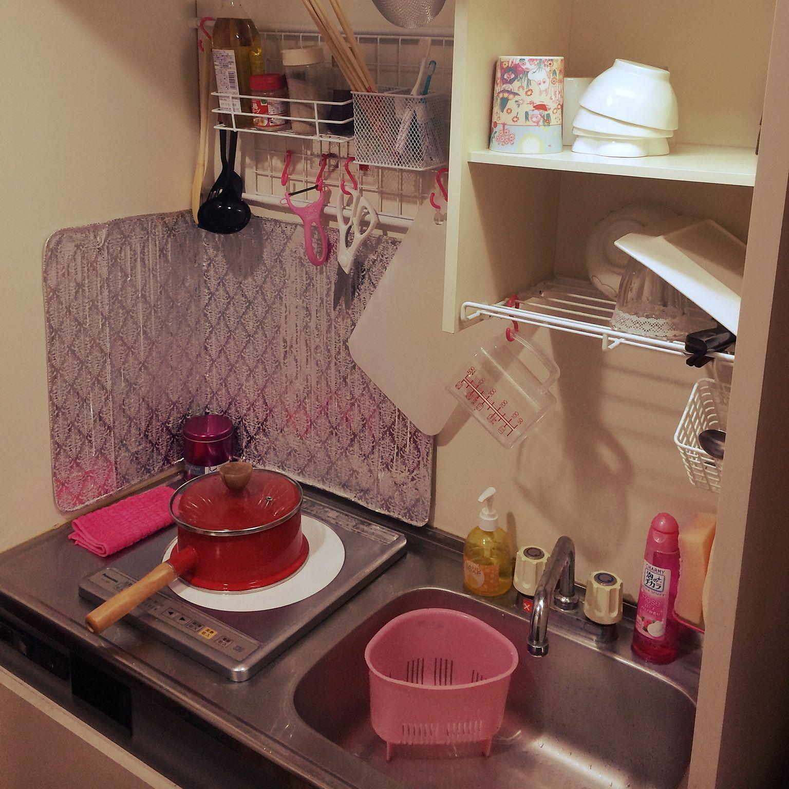 キッチン 狭いキッチン 一人暮らし 1kのインテリア実例 2014 11 28
