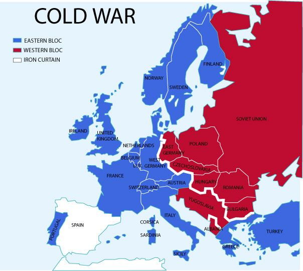 The Cold War - Lessons - TES | Cold war, War, Europe Map Of Berlin After Cold War on map of europe cold war, nato cold war, berlin wall map cold war, map of berlin world war 2, map of warsaw pact cold war,