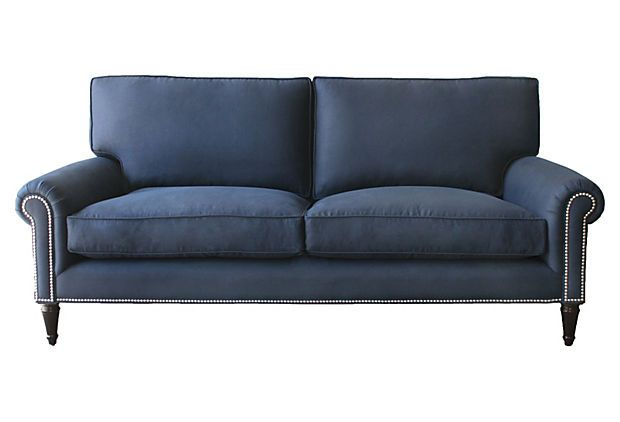 Barclay Butera Sussex Sofa Love The Color And It Is Half Poly