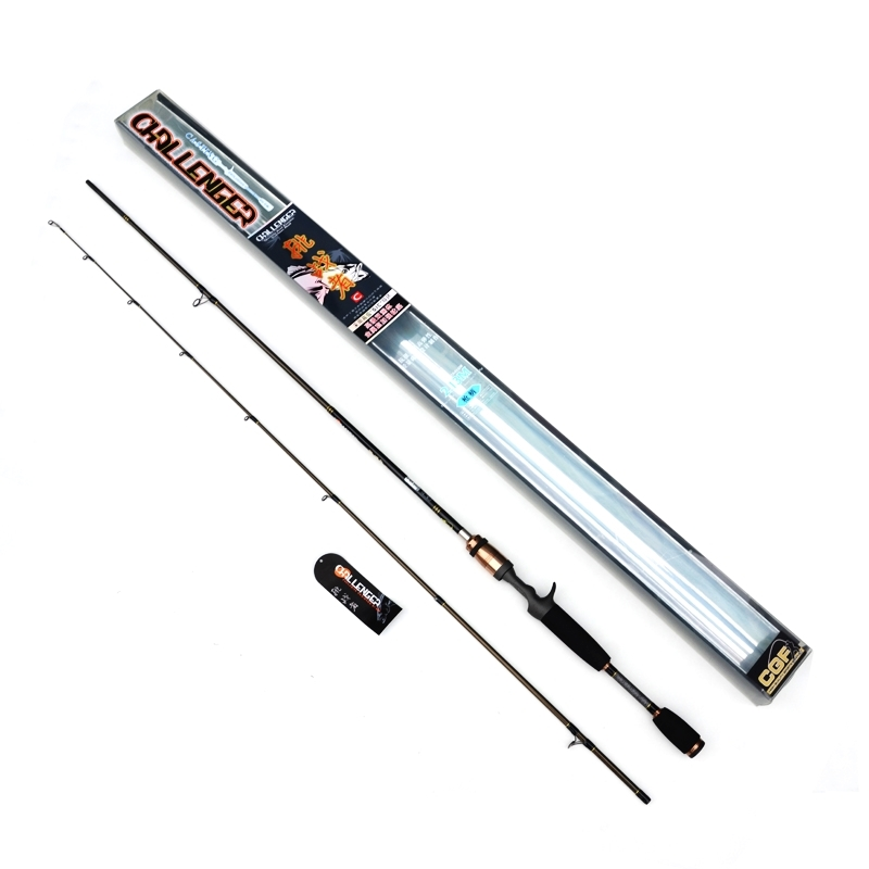 87.50$  Buy now - http://alie9y.worldwells.pw/go.php?t=32629784440 - Cheap Casting Fishing Rod 1.98/2.10m Power MH 99% Carbon Fiber Fishing Rod 2 Sec