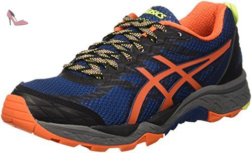 Gel-Excite 5, Chaussures de Running Compétition Femme Multicolore (Black/Black/White) 38 EUAsics