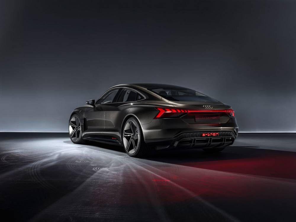 Audi E Tron Gt Concept Unveiled Audi E Tron E Tron Tron
