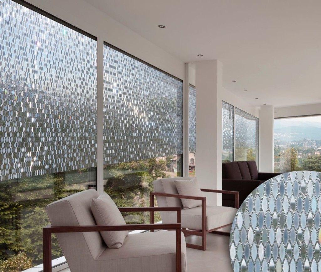 Abwaschbare Fensterfolie aus der Kollektion D'DECO ART mit Regenbogeneffekt / Washable window film from the Collection D'ART DECO with rainbow effect | Linea Hogar | Heimtextil 2016 | TOP FAIR Blog
