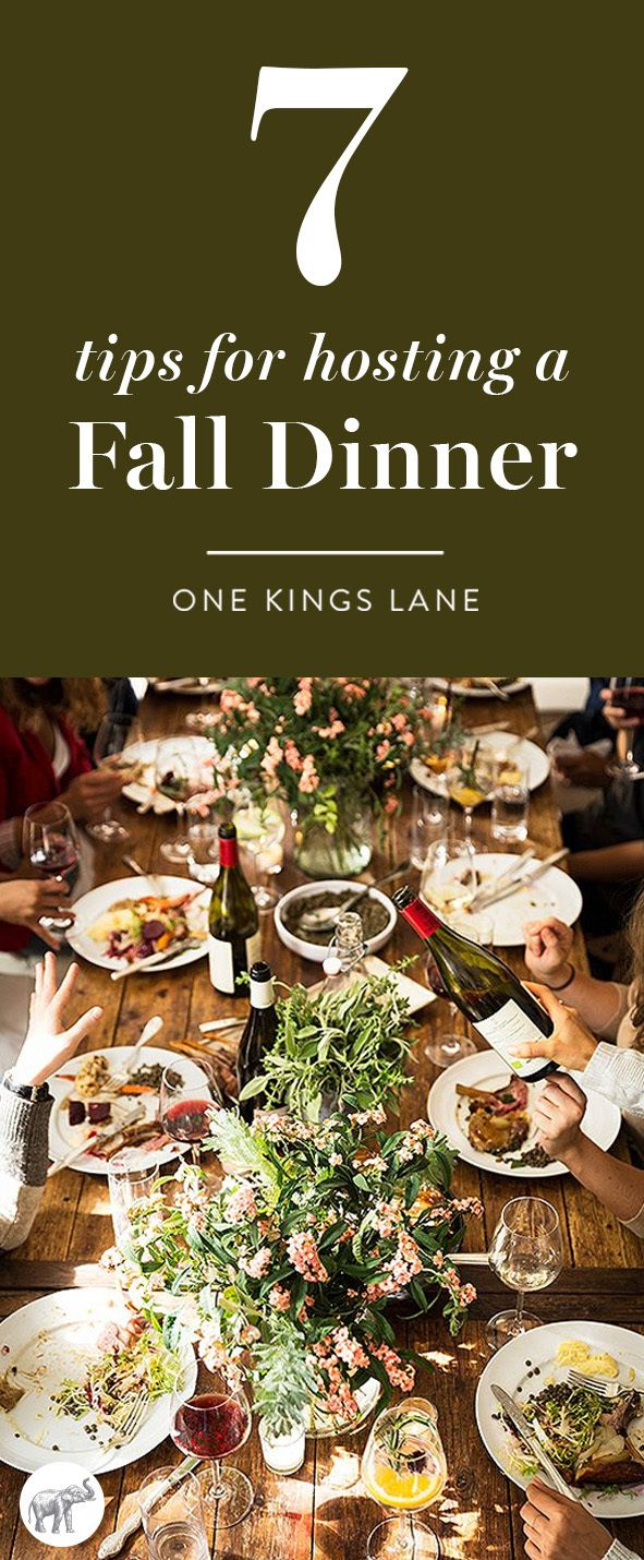 Casual Dinner Party Menu Ideas Part - 43: 7 Steps To Mastering The Casual Fall Dinner Party