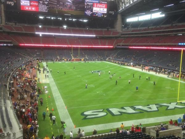View From The End Zone Seats At Nrg Stadium Home Of The Houston Texans Learn More About These Seats At Http Www Fromthisse Nrg Stadium Stadium Nfl Stadiums