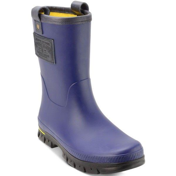 Polo Ralph Lauren Men s Warrington Rain Boots ( 89) ❤ liked on Polyvore  featuring men s fashion, men s shoes, men s boots, mens waterproof shoes,  polo ... c18e09863ce8