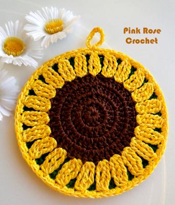 girasol | toma olla | Pinterest | Sonnenblumen, Häkelmuster und ...