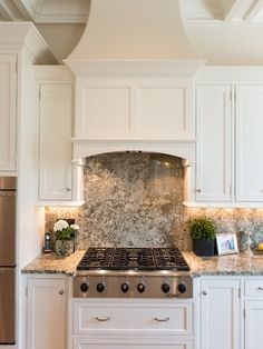 White Kitchen With Wood Vent Hood Oven Hood Home Decor Kitchen Kitchen Hoods