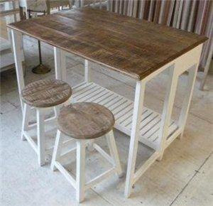 mesa plegable mesa desayunador c/banquetas somos fabricantes ...