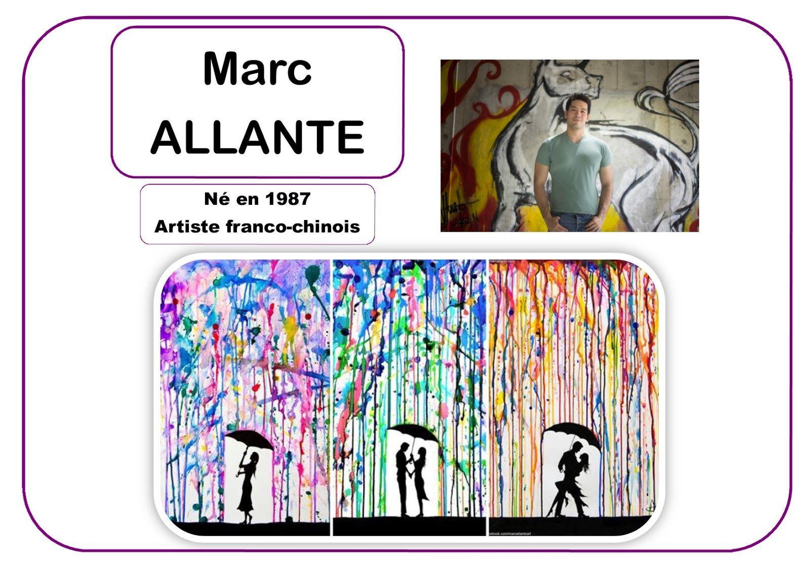 Marc allante portrait d 39 artiste inspiration d 39 artistes for Art et artiste
