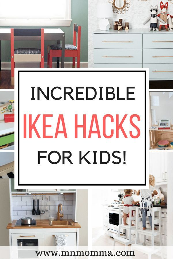 14 Best IKEA Hacks for Kids - Bedrooms & Playrooms images