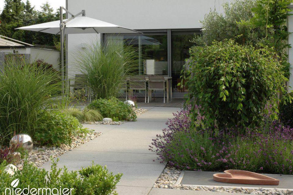 Repräsentativer Stadtgarten - Gartendesigns - Niedermaier Gärten ... Grundprinzipien Des Gartendesigns