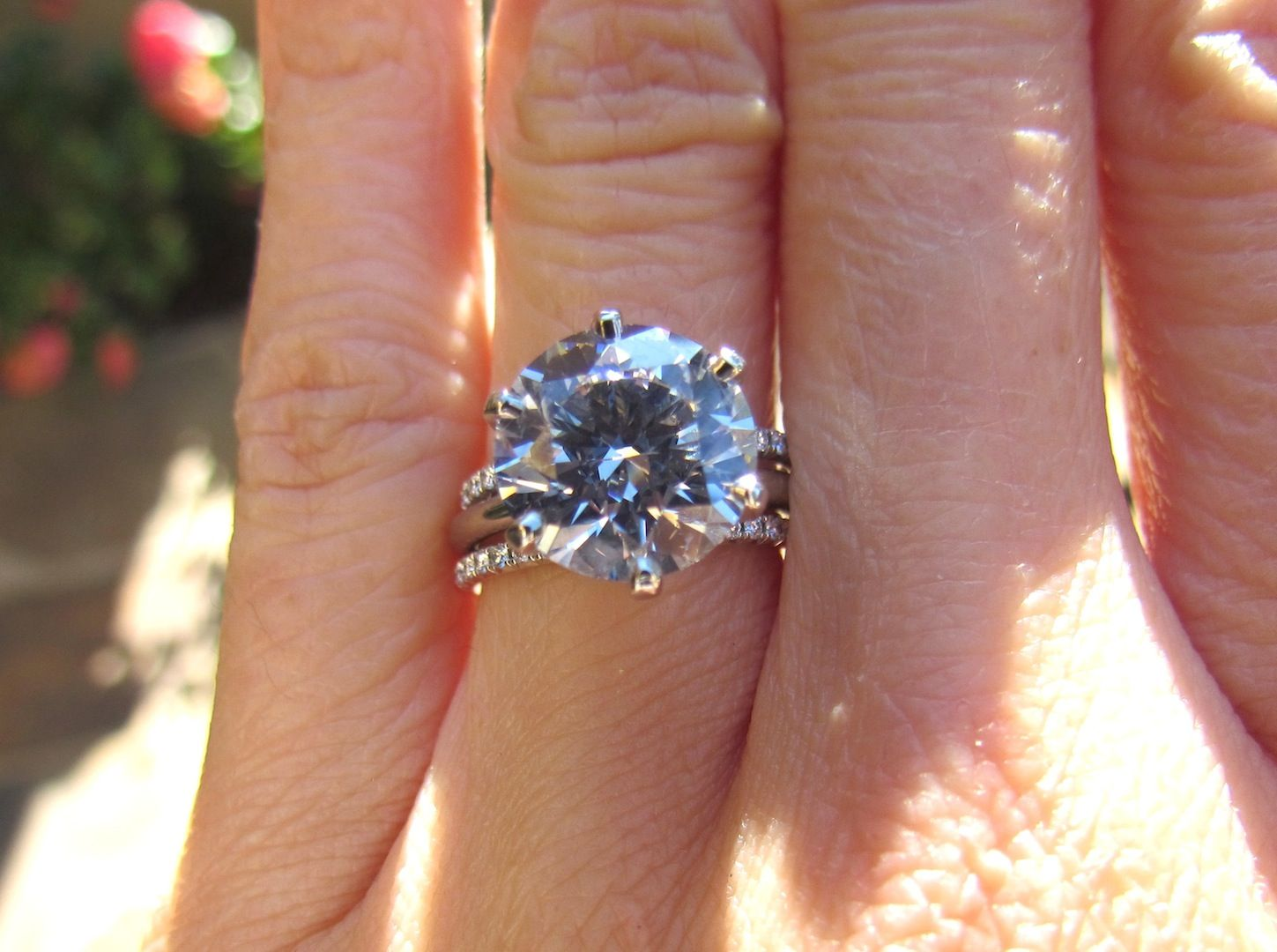 New Engagement Ring Upgrade 4.05ct Round Brilliant